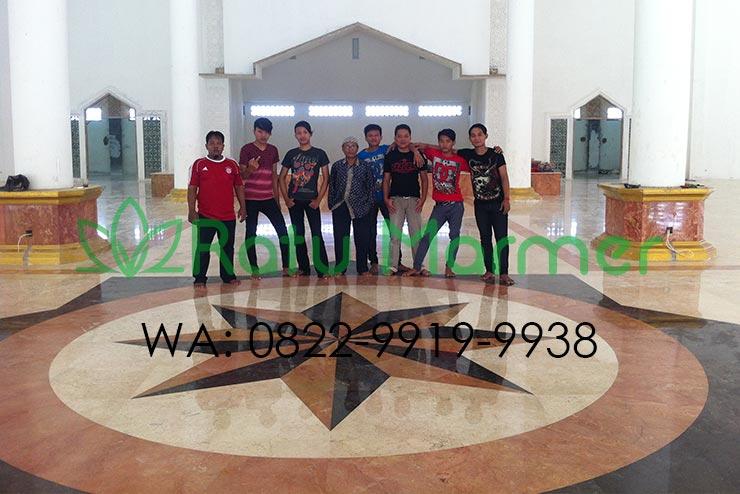 Bangun Masjid Lebih Mewah dengan Lantai Marmer